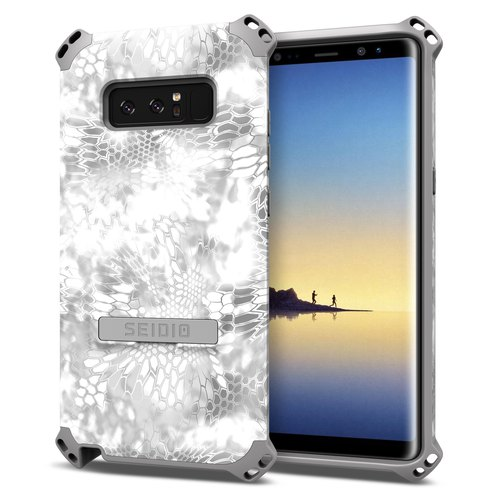 Military-grade four-corner crash protection shell / phone case for Note8-polar snow strange-DILEX ™ x KRYPTEK series
