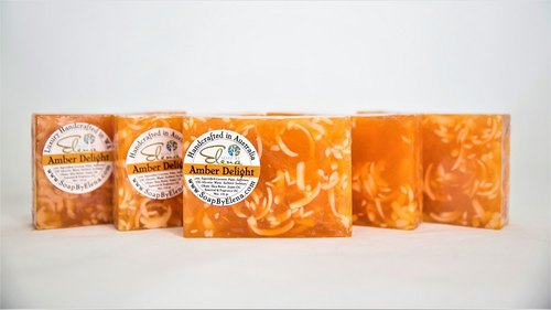 Australia Soap by Elena natural handmade soap - amber