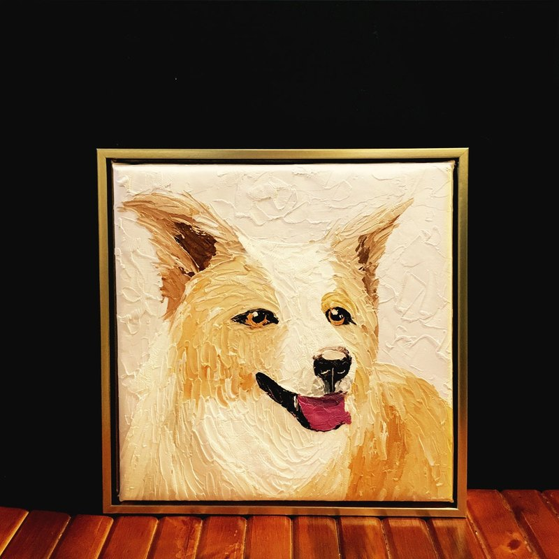 Custom pet portrait painting knife (slightly Hankuang)