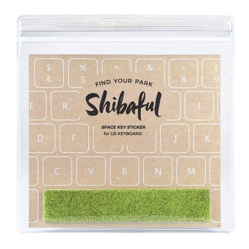 Shibaful Sticker for MacBook Air Space 空白鍵草坪貼紙 貼膜