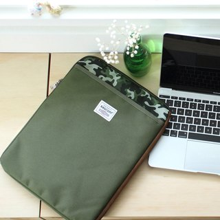 All purpose pockets bag(13.5'' Laptop OK)-Army_100443-90