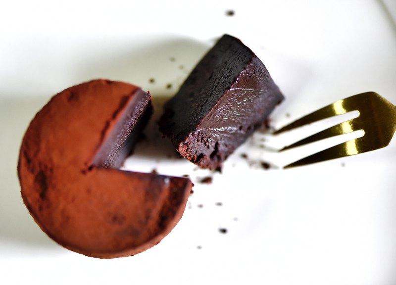 巧克力甘納許小蛋糕