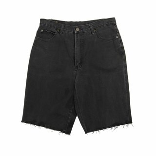 Tsubasa.Y Vintage House Black Lee005, Denim Shorts Denim Shorts