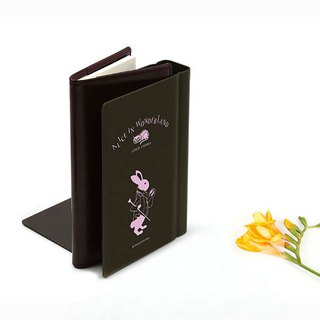 Bookfriends World Literature Imitation Book Metal Bookends - Alice in Wonderland - Left, BZC26848