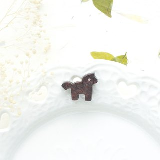 horse wooden earring ( 925 sterling silver studs) one per purchase