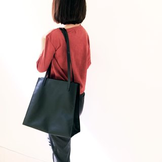 Shoulder Bag Tote Bag Hand Sew Handmade Leather Large Capacity Bag