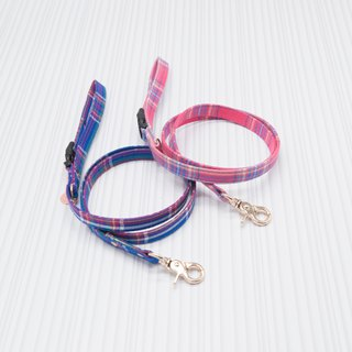 【Momoji】 Pet Leash - Tartan
