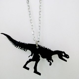 Lectra duck ▲ ⇝ Tyrannosaurus fossils (dinosaur series) ⇜ ▲ necklace / keychain / dual-use \ threw a postcard dogs and cats