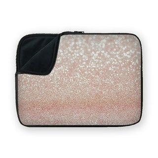 Pink Glitter waterproof shock-absorbing laptop bag BQ7-MSUN8