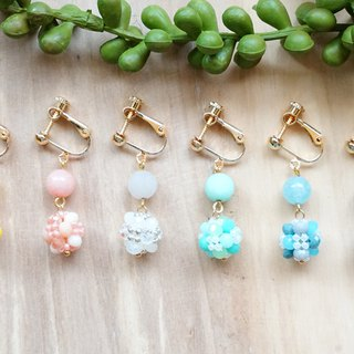 Goody Bag - Beaded Ball Earrings - Pinkoi Anniversary