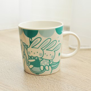 [SUMAIRU] carousel smile mug _Tiffany lake green | limited buy one get one free