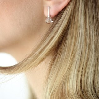 Small Dew drop earrings