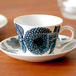 Gustavsberg basket Aster coffee cup set