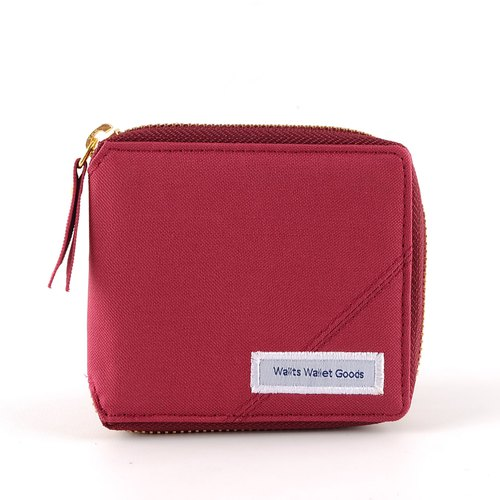 Zipper Wallet - Maita Maroon
