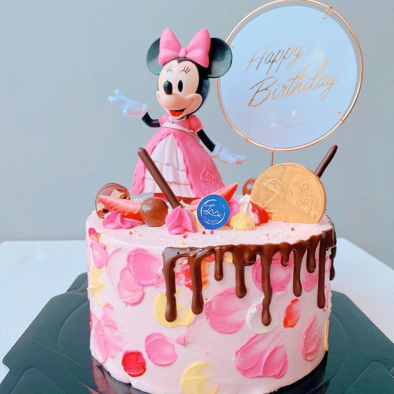 【客製化蛋糕】米妮公主蛋糕