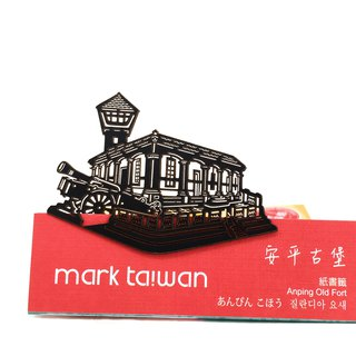 MARK TAIWAN Mai Mai Treasure Map - Anping Castle (Paper Bookmark)