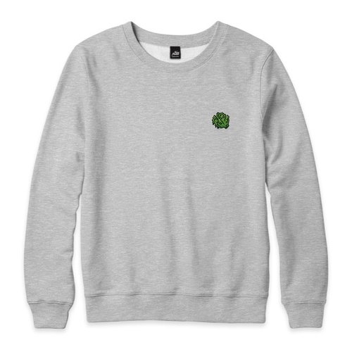 nice to MEAT you - vegetables - Deep Heather Grey - neutral version of the University of T