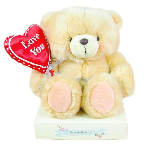 8-inch / love you balloon fluffy bear [Hallmark-ForeverFriends fluff - Valentine Series]