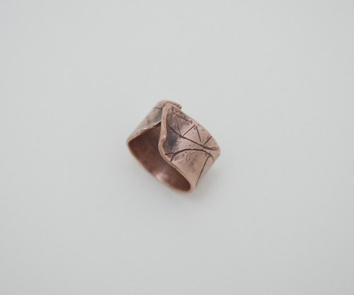 The Trace Of Life‧Copper Open Size Ring-II