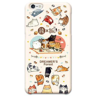(Spot) afu illustration mobile phone shell - iPhone6Plus/6sPlus - Cat's 100 life
