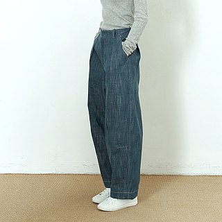 BUFU unisex oversized vintage denim pants