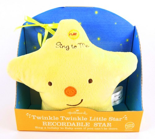 Baby recordable door hanging decoration / Little Star (with sound)
