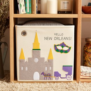 USA kaikai & ash toy storage box - Hello! New Orleans