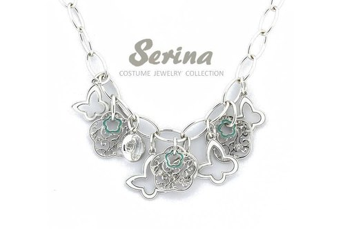 Serina handmade jewelry --- Light painting butterfly