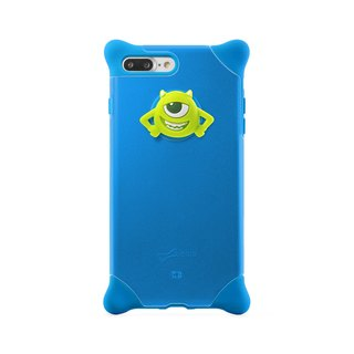 Bone / iPhone 8 Plus / 7 Plus Bubble Protector Case - Big Eyes
