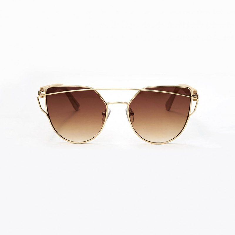 Personalized Bamboo Sunglasses - Cat Eye