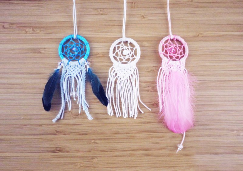 [Feather] Handmade / Handmade Dreamcatcher Charm