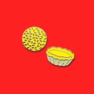 Dim Sum II Pin (Set of 2)