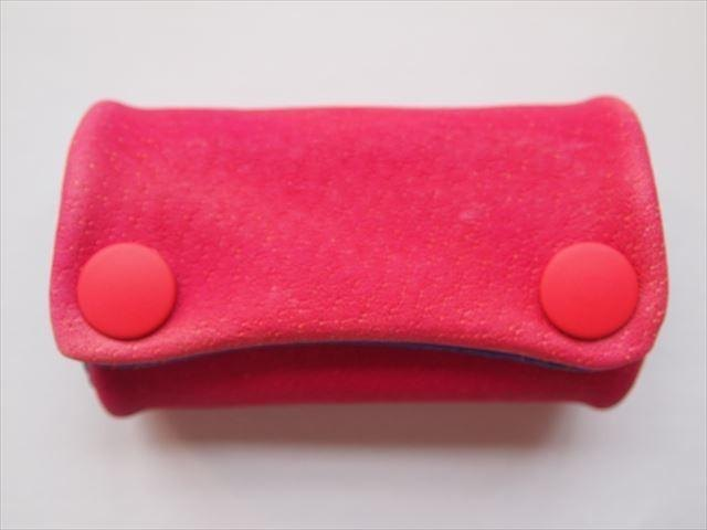 Luxury pig leather soft key case [hand-dyed leather] 15430018
