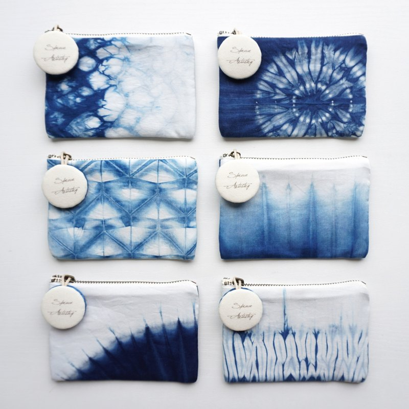 S.A x Coin Purse, Sparkle/ Glacier/ 1/4Cell/ Dandelion/ Spruce Forest/ Straw