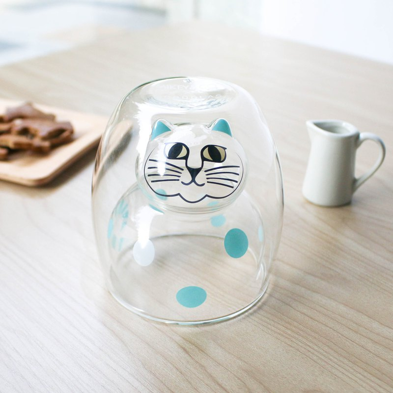 Lisa Larson X Good Glass | Spotted Cat Double Glass