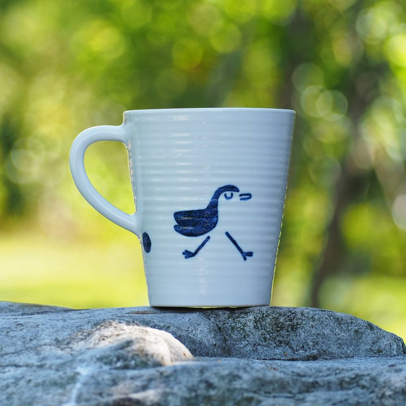 [Comfort] Second Generation Coffee Cup - The Beginning of Samsung Four Seasons - White-bellied Chicken - 360ml