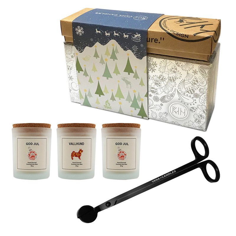 Christmas Scented Candle Giftset