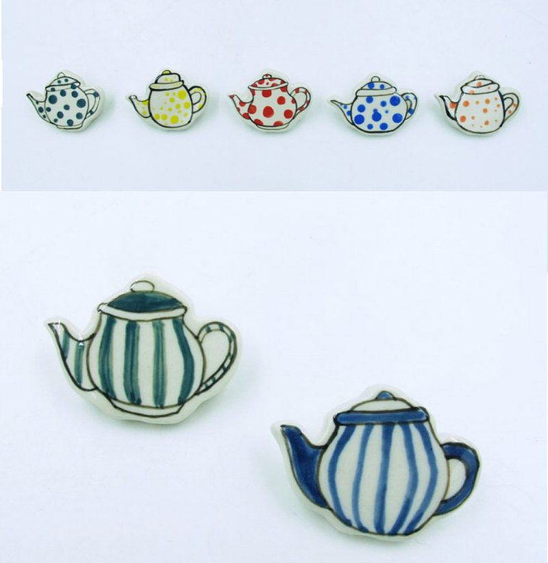 50 pieces of teapot pins