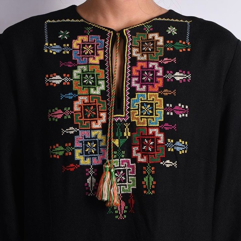 Palestinian Embroidery Dress