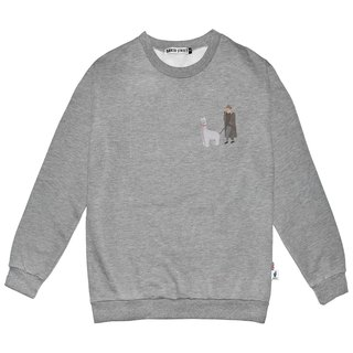 British Fashion Brand -Baker Street- Little Stamp: Walking the Alpaca