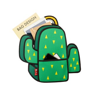 JumpFromPaper Cactus Backpack-Green