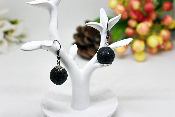 Alloy * Black Yung Park * _ Hook Earrings