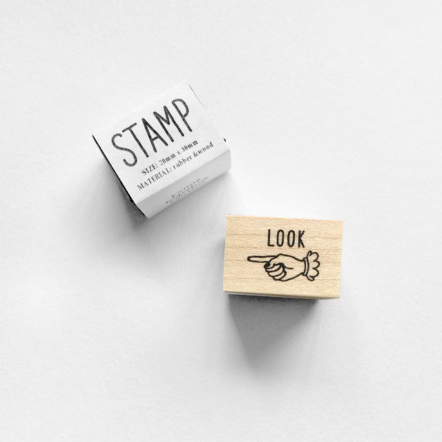 KNOOP WORKS Wooden Stamp (LOOK)
