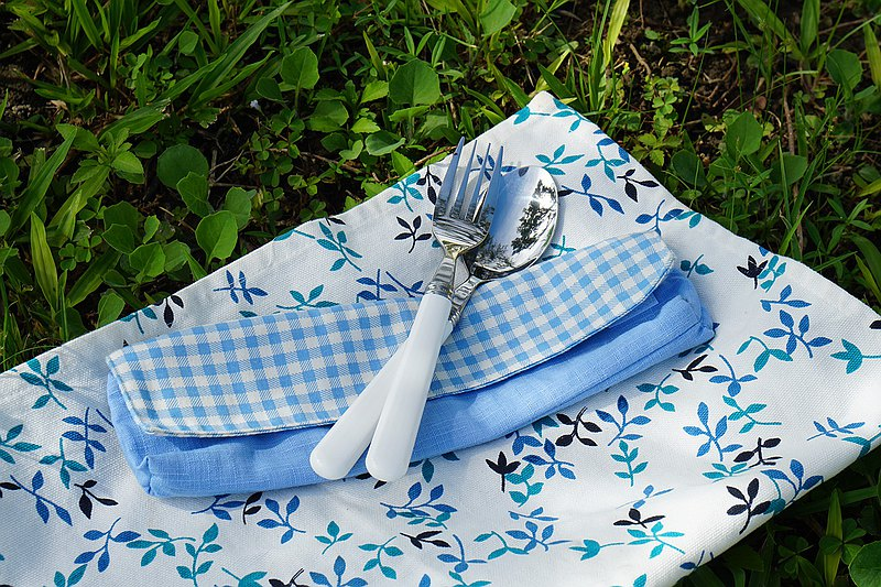 【OUTDOOR】LAYANA Outdoor Cutlery Bag Reusable Cutlery Bag (3 types)