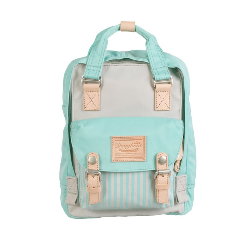 Doughnut Waterproof Macaron Mini Backpack - Rock Grey