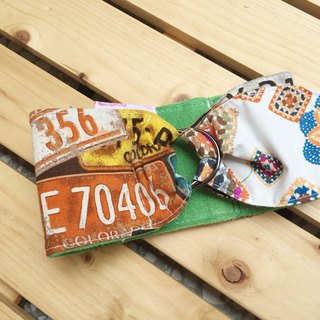 House number digital cool scarf M