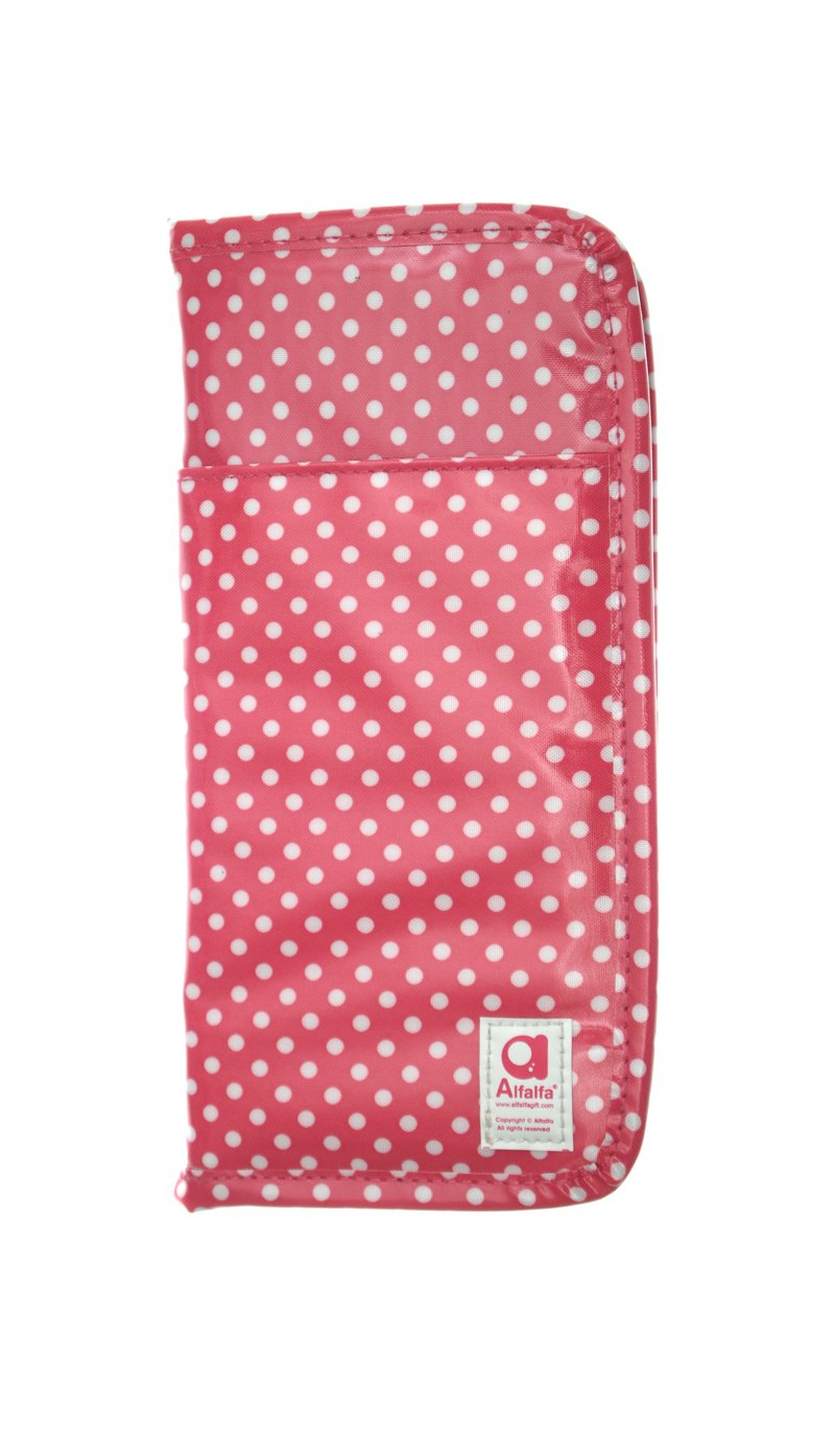 Mizutama All-in-one travel wallet - Pink