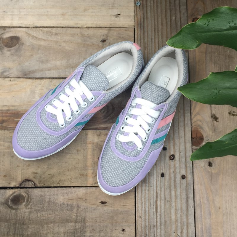 Lavender purple casual shoes | Fresh and comfortable | Color matching