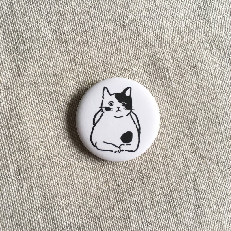 Passport Photo Cat | 3.2cm Matte Badge