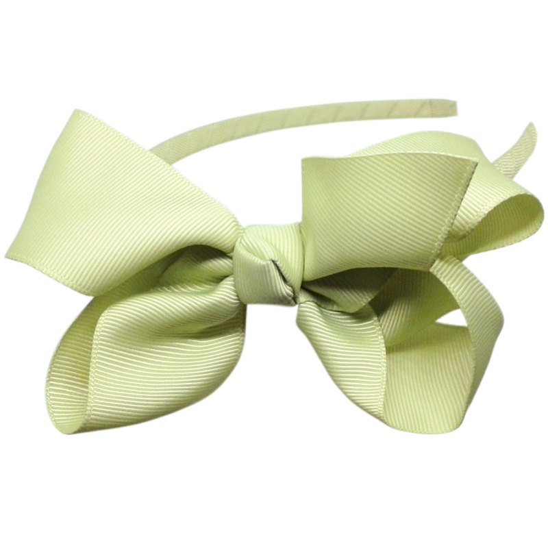 Bow Handmade Headband All Inclusive Handmade Hair Accessories Bow-Mint